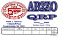 Color QRPARCI QSL