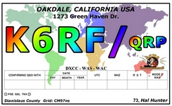 Color World Map QRP