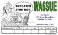 Repeater time out QSL